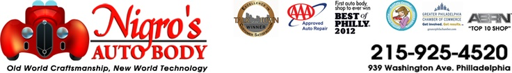 Only AAA Approved Body Shop In Philadelphia. Auto Body Repair, Best of Philly Winner.