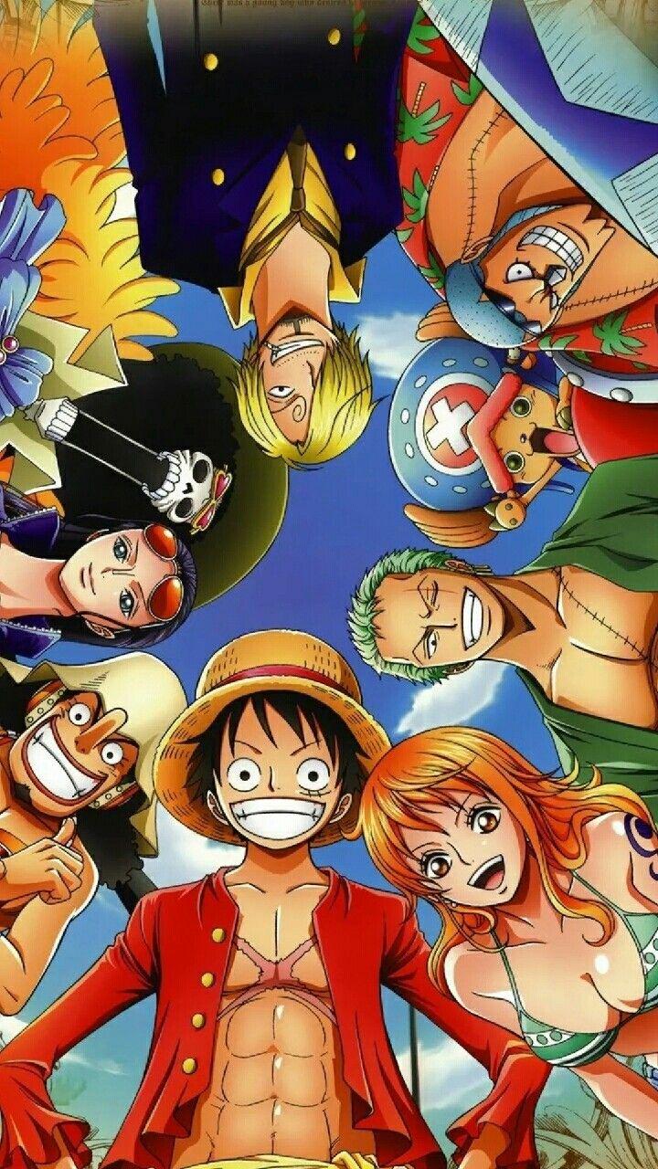 Straw Hat Crew طاقم قبعة القش In 2020 One Piece Wallpaper Iphone One Piece Anime Anime One