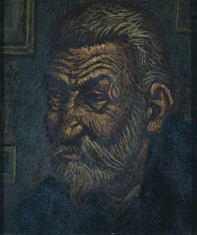 Κόντογλου Φώτης-Πορτρέτο Παπαδιαμάντη