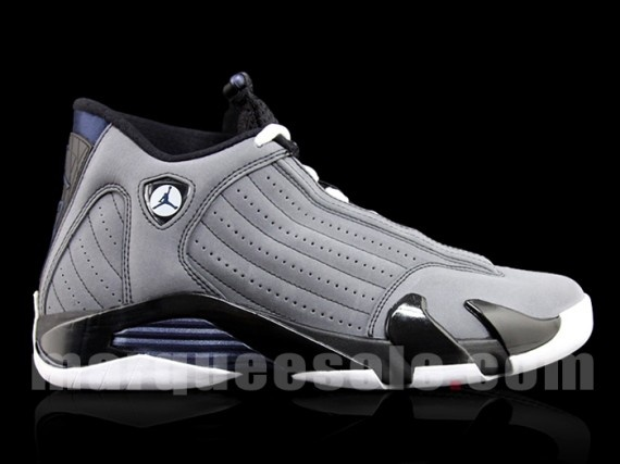 Air Jordan XIV 'Light Graphite'...picked these up cause of Georgetown colorway..good pickup!