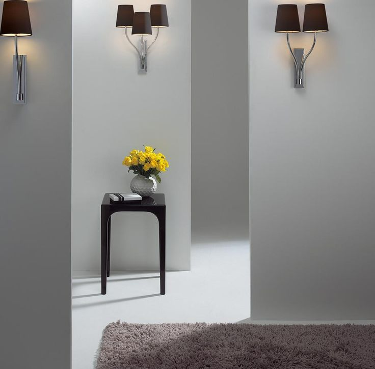 Home Accessories, The White Wall Design Idea Also Wall Lamp Style Innovation Also Smallwooden Table Then Flower Design Idea: The Nice Design Of Contemporary Track Lighting With Great And Best Style