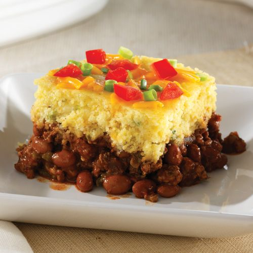 Chipotle Chili Cornbread Bake - The Pampered Chef® Order your Deep Covered Baker today at www.pamperedchef.biz/kris -- perfect Christmas present.