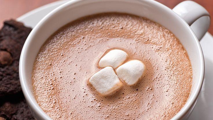Varm choklad är bättre än hostmedicin!