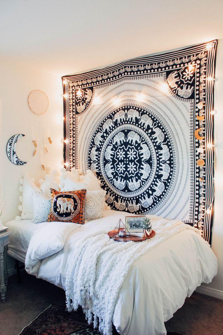 Lady Scorpio | @Ladyscorpio101 ☽☽ ladyscorpio101.com ☆ Perfect Bedroom Decor for the Hippie at heart ♡ ☆☆ Designed by @Kaitlynjohnsondesign
