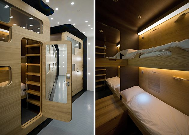 Sleepbox Hotel Tverskaya In Moscow Russia 3