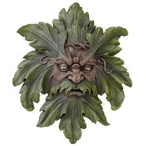 Green Man Wall Hanging - gaia rising metaphysical