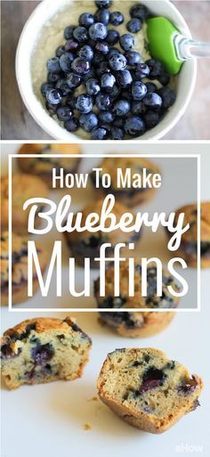 Easy, delicious blueberry muffins from scratch! This recipe is the best, plus there are clear pictures to go along with each step! http://www.ehow.com/how_12724_make-blueberry-muffins.html?utm_source=pinterest.com&utm_medium=referral&utm_content=freestyle&utm_campaign=fanpage