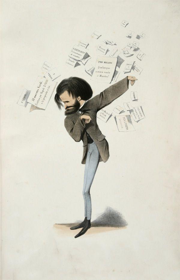 """""""Il più figo d tutti"""" cit. (illustrazione di Delfico, 1860)"""