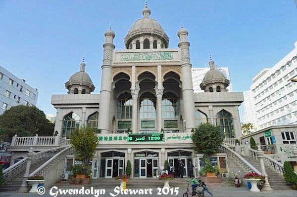 Tata Er Mosque, Urumqi, Xinjiang, China,