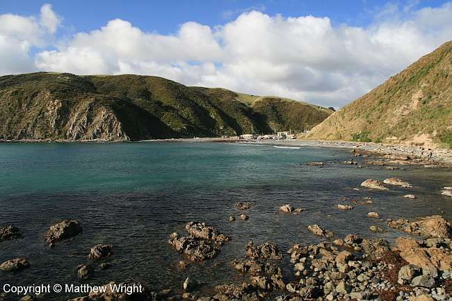 A visit to Makara Beach in the middle of a southern winter