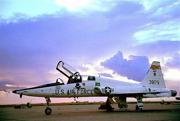 The USAF Northrop T-38 Talon was the world's first supersonic jet trainer. - Image - Airforce Technology
