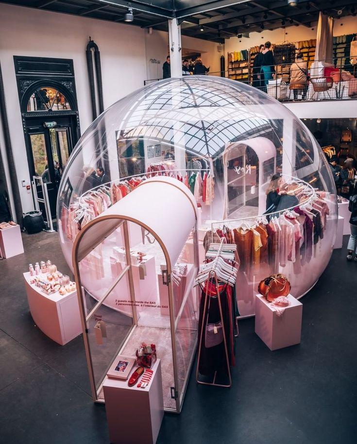 "MERCI, Paris, France, ""Merci en Rose: It's all about pink, pastel & bubbles"", pinned by Ton van der Veer"