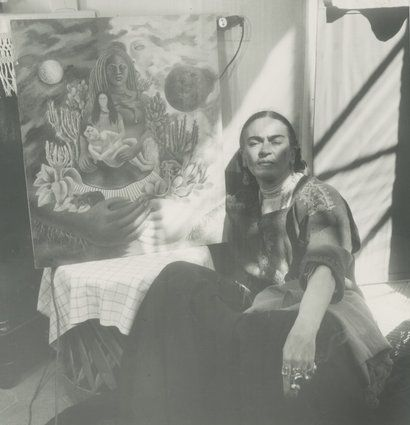 Enchanting Vintage Photographs Of Frida Kahlo Perfectly Capture The Surrealist Queen