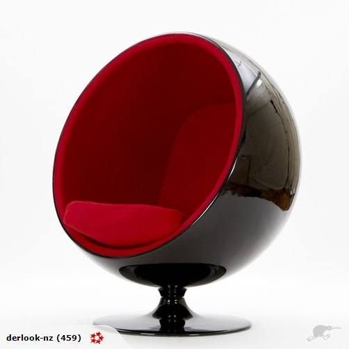 Ball Chair futuristic cosy nomnom