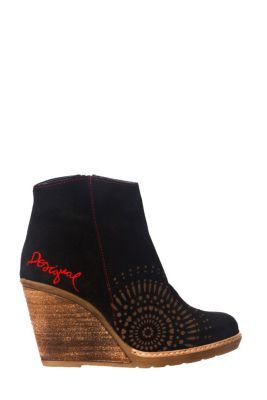 Desigual Women's Surry ankle boot. These shoes are made in Spain and the quality is superb. Heel height: 7.5 cm. / 2.9