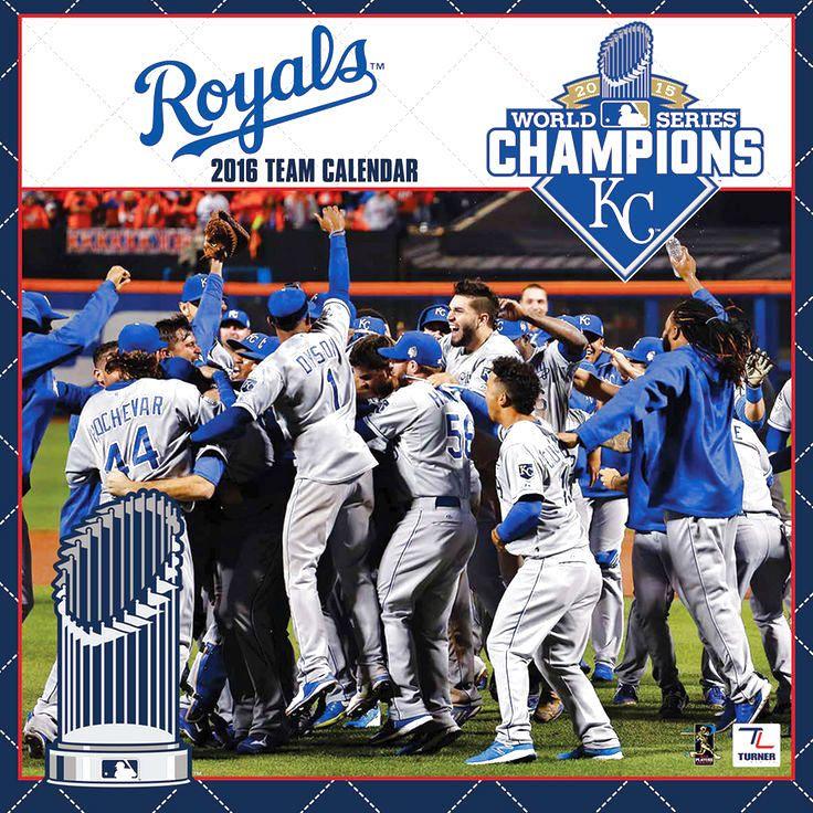 Kansas City Royals 2015 World Series Champions 2016 Wall Calendar - $13.29