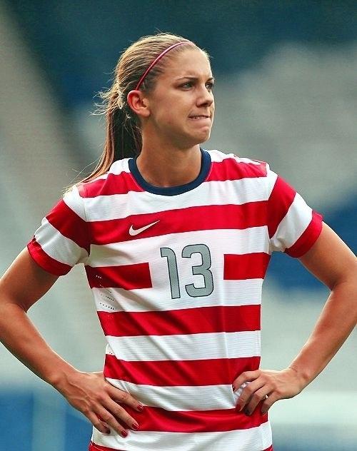 Alex Morgan. She s a good player that I wish I could met a3507f9e2cb2c