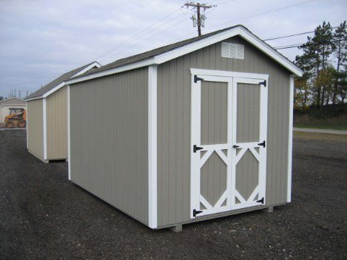 little cottage company classic gable diy playhouse kit 8 x 10 storage shed - Garden Sheds 8 X 14