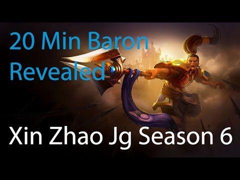 League Of Legends Xin Zhao Jungle Guide: 20 minute baron Season 6 - http://freetoplaymmorpgs.com/league-of-legends/league-of-legends-xin-zhao-jungle-guide-20-minute-baron-season-6