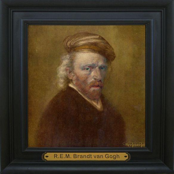 Rembrandt van GoghMeesterwerk ontdekt!!! Jaren onder het stof, op de bovenkamer van Huijze Breinstein gestaan. Hop ... binnenkort wordt het kunstwerk geveild bij Zoutebier. Speciale kijkdagen op 25, 26 december 2013 en 1 januari 2014. #kunst #Rembrandt #vanGogh