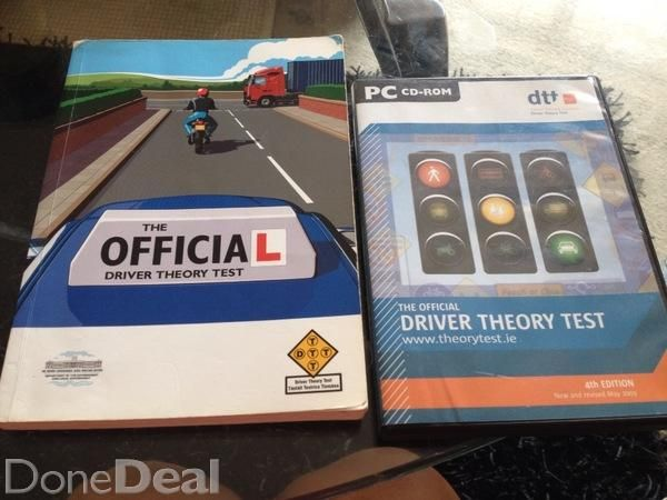 The Official Driver Theory Test Book and Cd