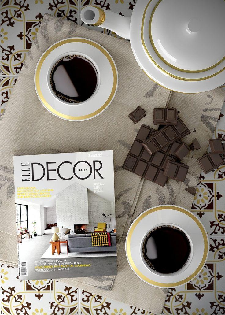 #interior #kitchen #chocolate #yellow #stillLife - Modellazione e rendering: Cinema 4D + Vray Post-produzione: Photoshop