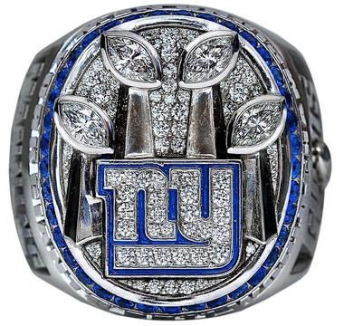 2012 Super Bowl Championship Ring