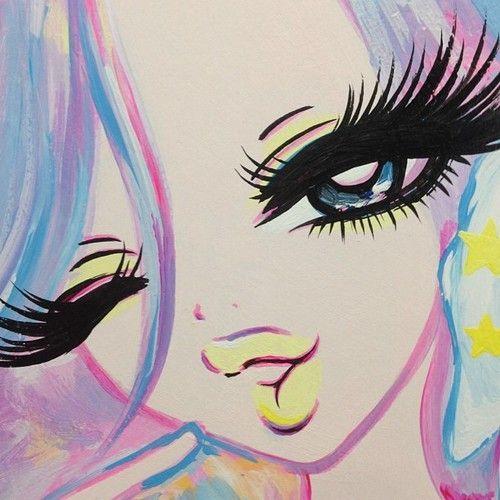 Big Eyes....and Eyelashes #EyeCreamFor40S