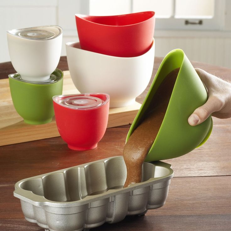 These Cool New Flexible Silicone Mixing Bowls By ISi Basics Are Going To  Revolutionize How You Look At Mixing Bowls In The Kitchen.