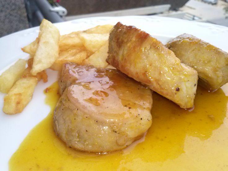 Un solomillo a la naranja delicioso... http://lacocinadesole6.blogspot.com.es/2013/04/solomillo-de-cerdo-la-naranja.html