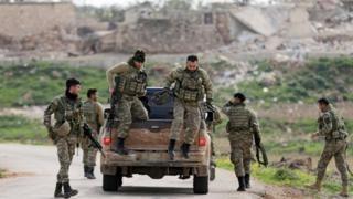 Afrin: Turkish forces 'encircle' Syrian Kurdish city Latest News