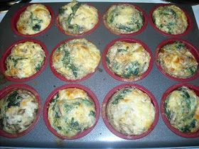 New Beautiful Me: Cheesy Egg Muffins