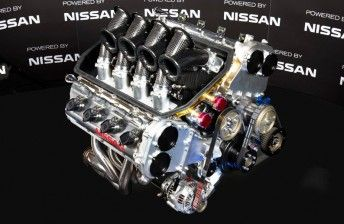 New Nissan 5.0 LITRE Engine for V8 SuperCars 2013 COTF (Australia)