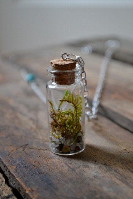 Living Terrarium Necklace