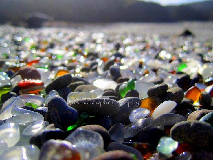 Sea Glass Beach , Fort Bragg , CA