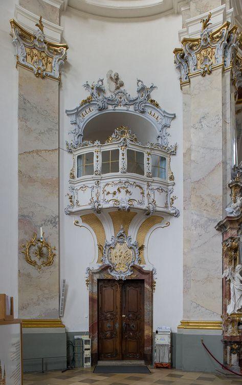 europeanarchitecture:  Basilica of the Fourteen Holy Helpers/Basilika Vierzehnheiligen - architect Balthasar Neumann, Bad Staffelstein, Bavaria, Germany (by Xavier de Jauréguiberry)