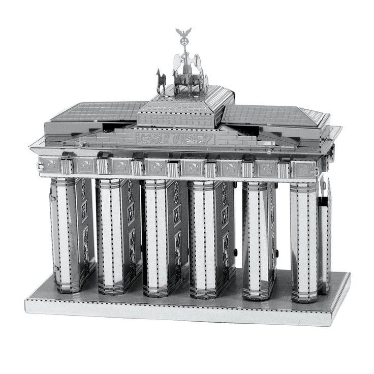 Fascinations Metal Earth Brandenburg Gate 3D Metal Model Kit