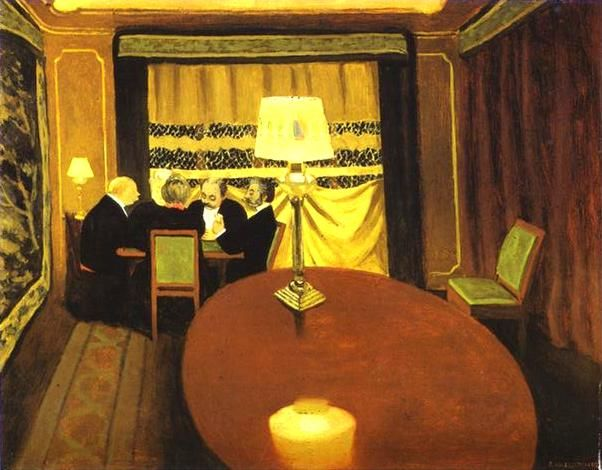 Felix Vallotton - Le Poker, 1902