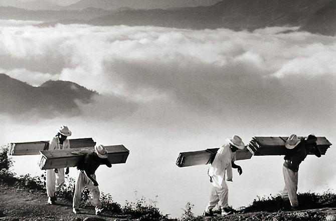 sebastião salgado: de la serie otras américas (oaxaca, 1980)