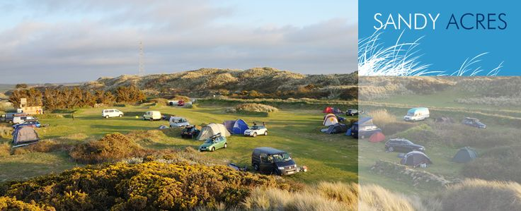Sandy Acres - Hayle Cornwall - Campsite Cornwall