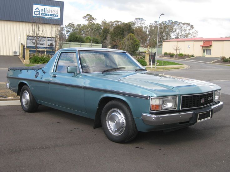 GMH WB Holden Kingswood Ute. Last of the seperate chassis Utes.