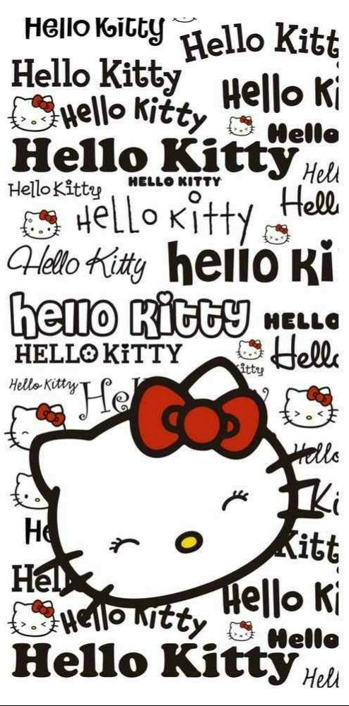 Hello Kitty / Serviettes De Plage
