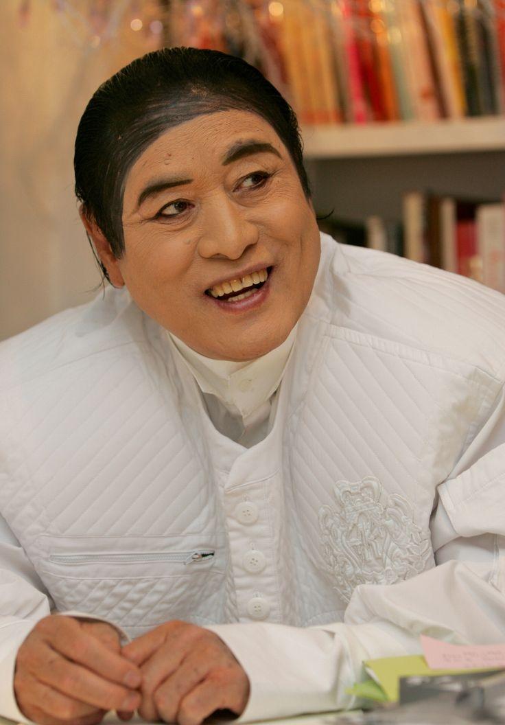 패션 디자이너 앙드레 김 Fashion Designer Andre Kim 유명인 국내 Korean