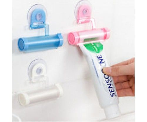 Fali fogkrém kinyomó és tartó henger tapadókoronggal - hasznos fürdőszobai ajándék ötlet bármilyen alkalomra!