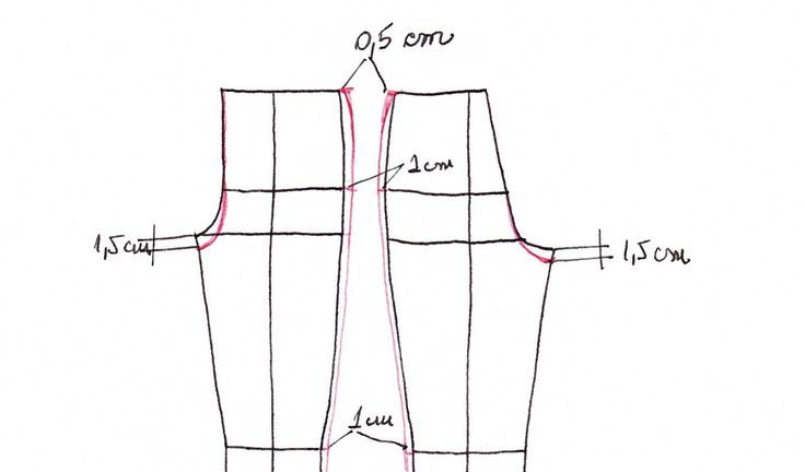 how to draft the basic pattern for a made to measure pair of trousers