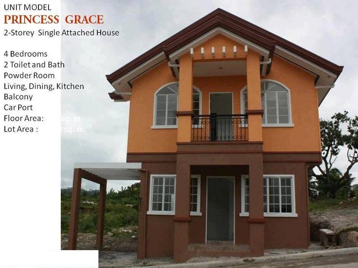 PRINCESS GRACE MODEL UNIT 2 Storey, Single Detached House 4 Bedrooms 3  Toilet And Bath