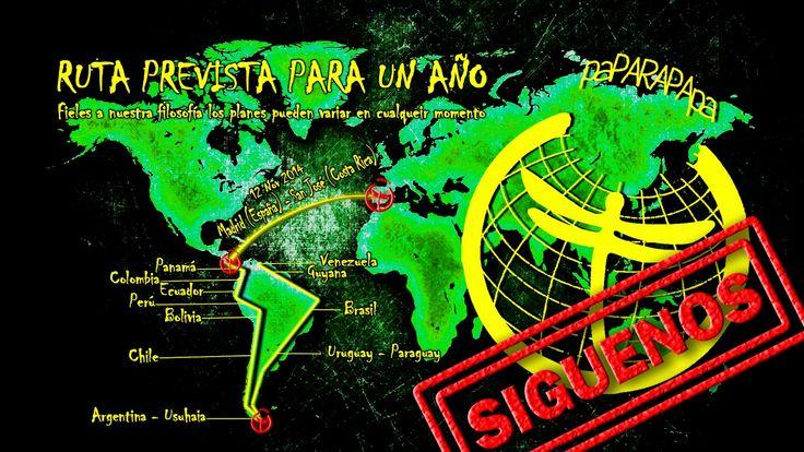 Ruta PAPARAPAPA por el Continente Sudamericano