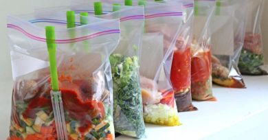 Freezer Bags of Crockpot Meals