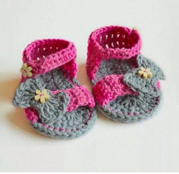 Crochet Flower Pattern Rose By Rachel Choi : Zapatitos tejidos a crochet para bebe02 Niki Pinterest ...