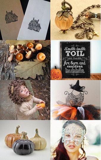 #Treasury #Halloween #Etsy #Abeillia #Fichate #November